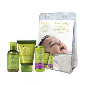 zestaw podróżny dla niemowląt, naturalne kosmetyki dla niemowląt