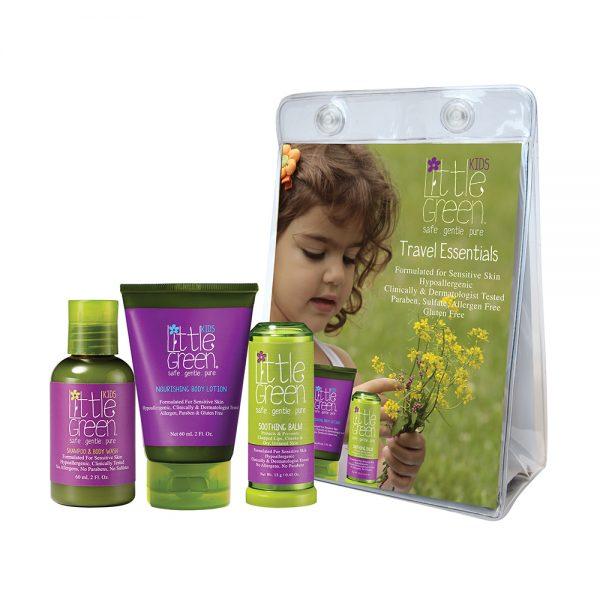zestaw podróżny dla dzieci, naturalne kosmetyki dla dzieci