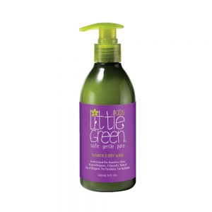Naturalny szampon i żel do kąpieli dla dzieci