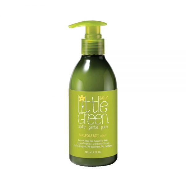 naturalny szampon i płyn do kąpieli dla dzieci i niemowląt