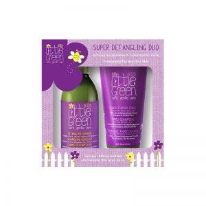 zestaw ułatwiający rozczesywanie włosów, naturalne kosmetyki do włosów dla dzieci, naturalny szampon dla dzieci